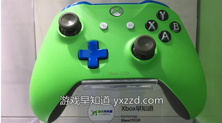 游戏早知道Xbox One定制手柄