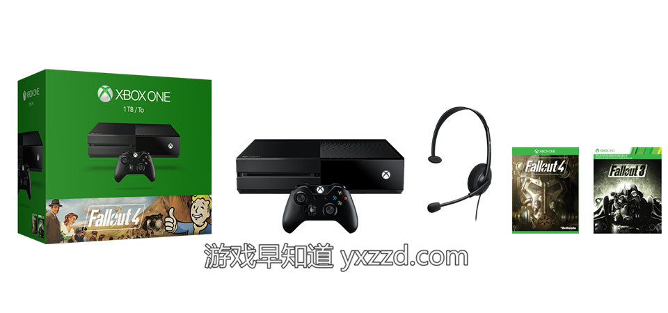 Xboxone辐射4主机套装