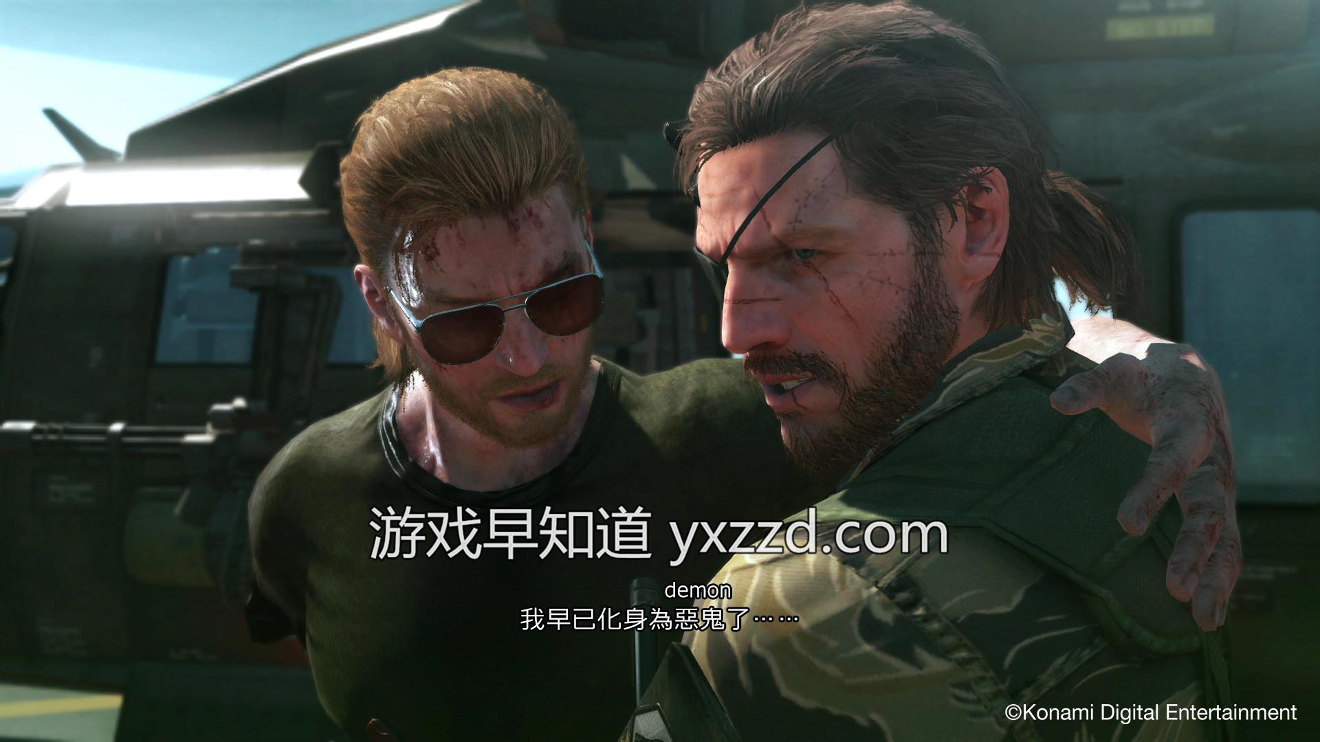 PS4合金装备5幻痛繁体中文版