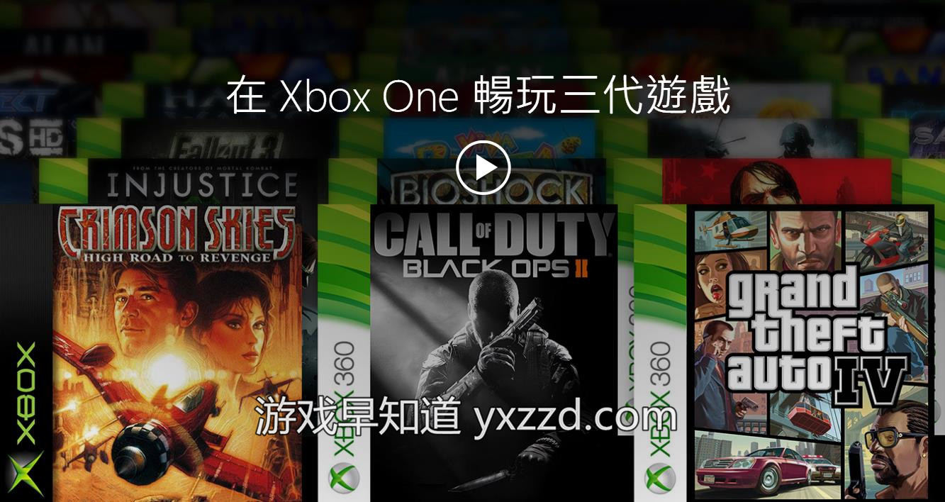 XboxOne兼容游戏