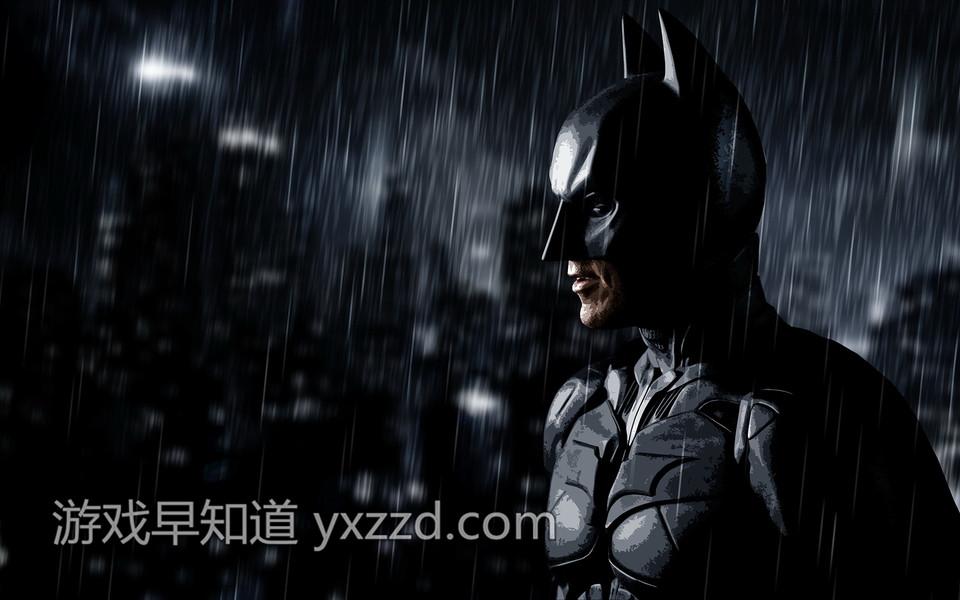 蝙蝠侠阿甘骑士