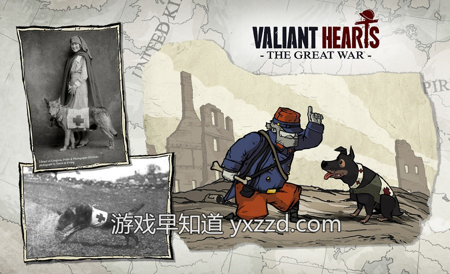 勇敢的心世界大战valiant-hearts-the-great-war