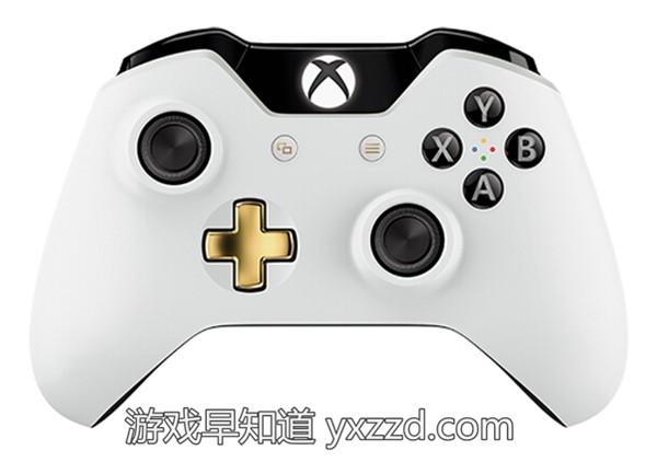 Xboxone全新白金色手柄