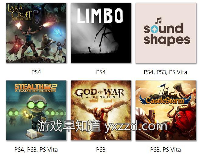 PS Plus8月会员免费游戏