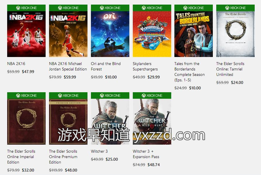 Xboxone TGA2015促销