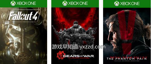 Xboxone&xbox360圣诞新年第2周促销折扣