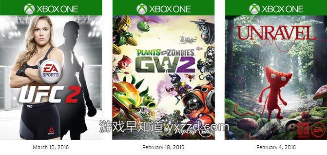 xboxone EA Access优先体验游戏