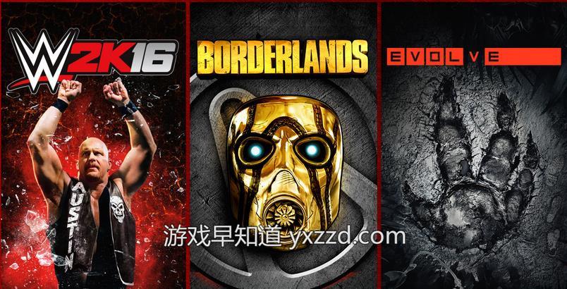 Xboxone 2K游戏促销