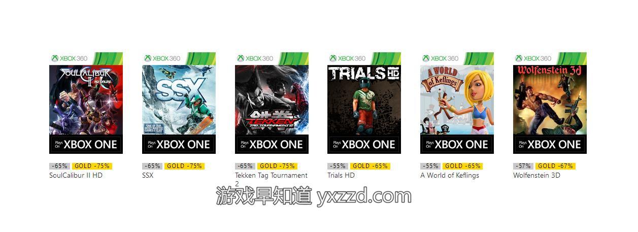 XboxOne兼容Xbox360