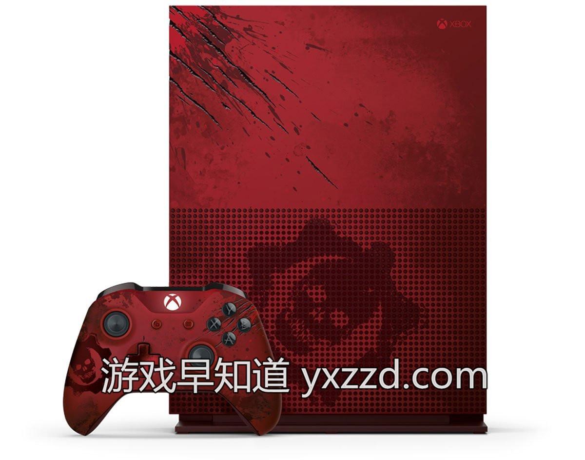XboxoneS战争机器4主机