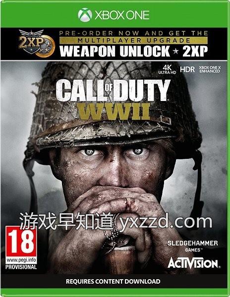 Xbox One X使命召唤二战