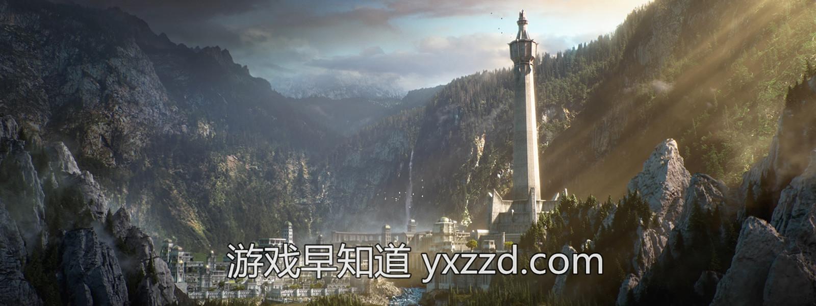 Xbox One X中土世界