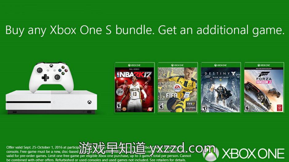 XboxoneS促销