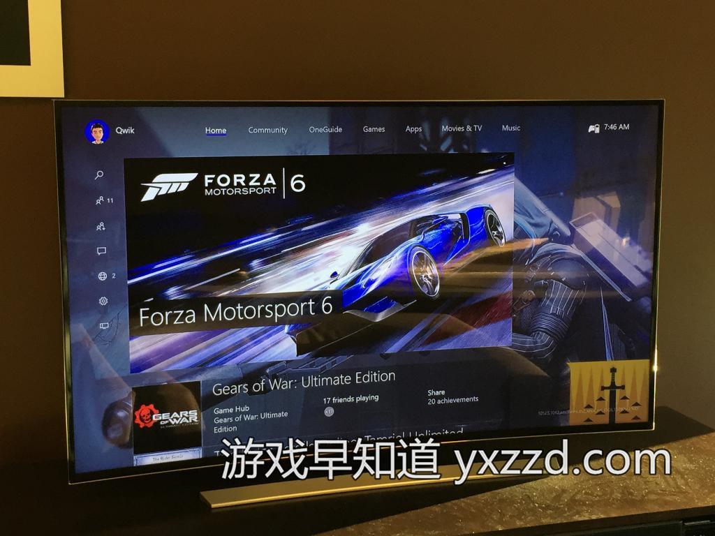 Xboxone 11月全新UI