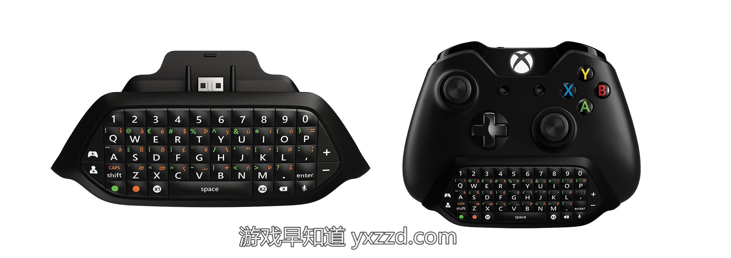 Xbox-One全键盘Chatpad
