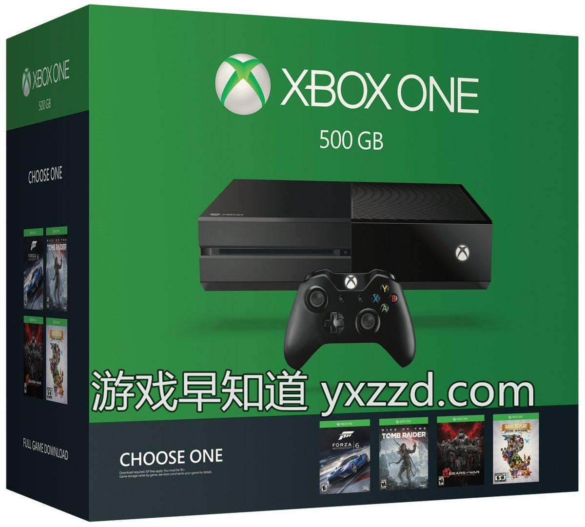 Xboxone 500G 2449美元
