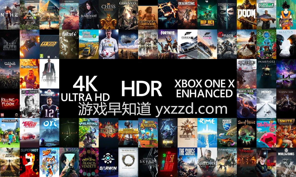 XboxOneX游戏优化