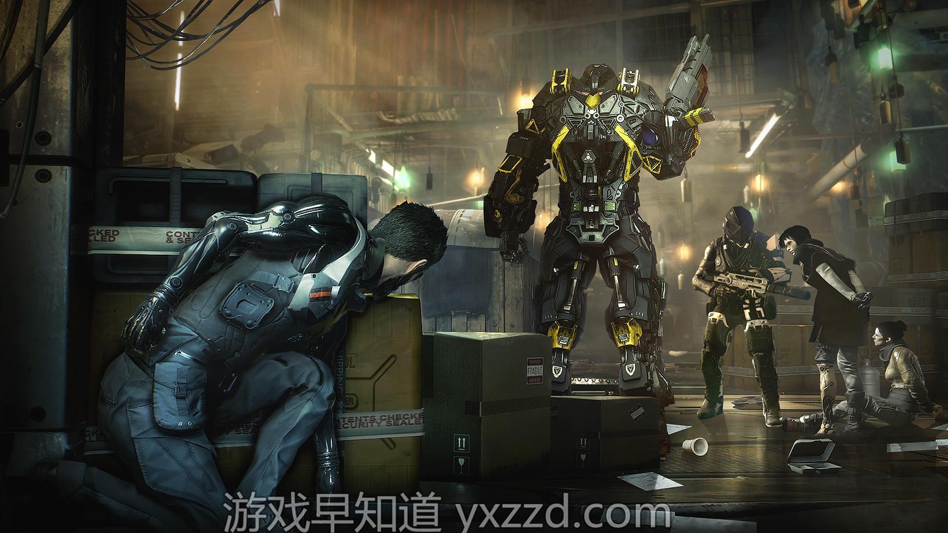 杀出重围:人类分裂Deus Ex: Mankind Divided