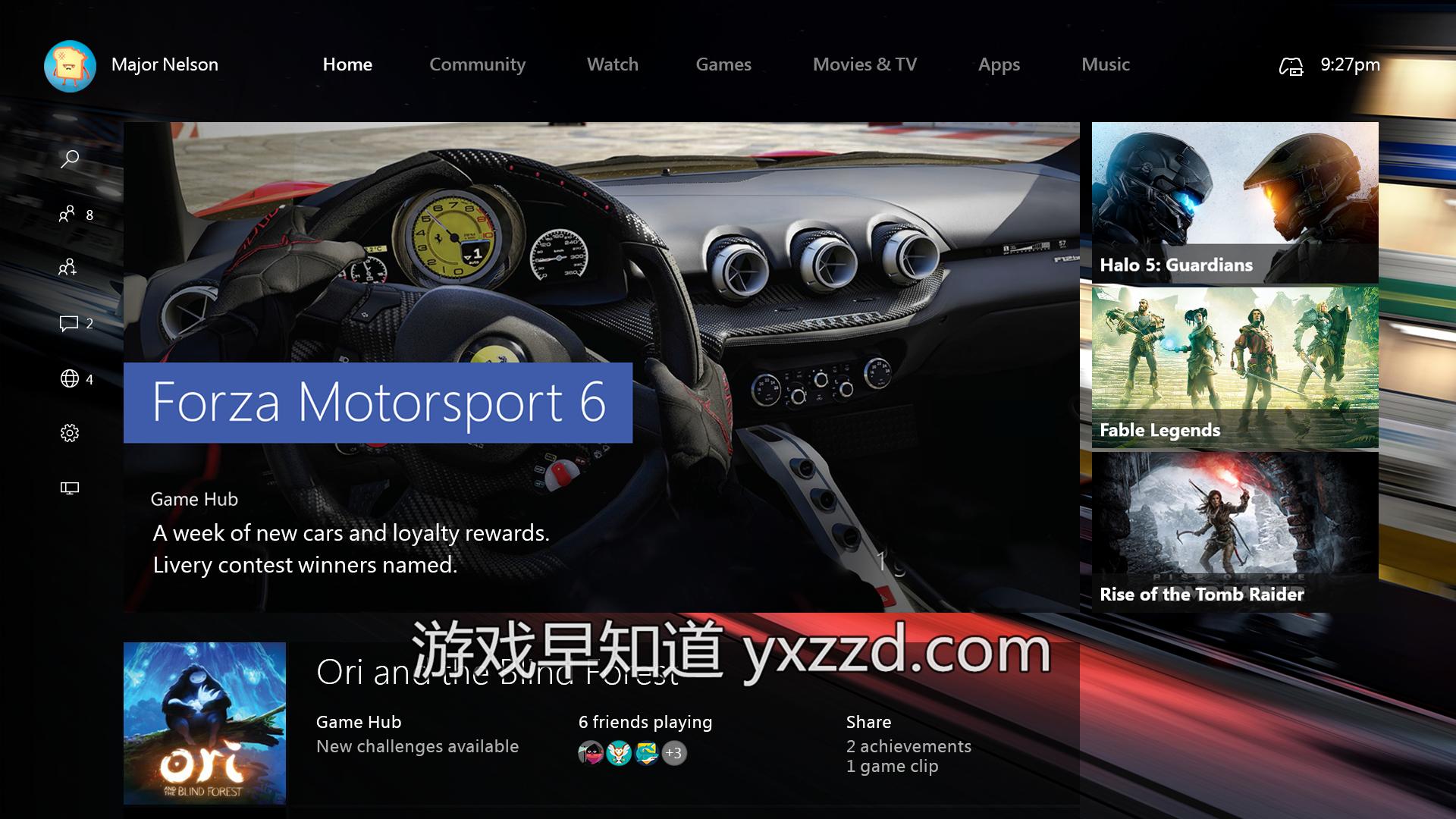 Xboxone win10全新UI