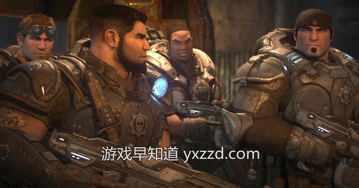 国行Xboxone战争机器终极版显示繁体中文