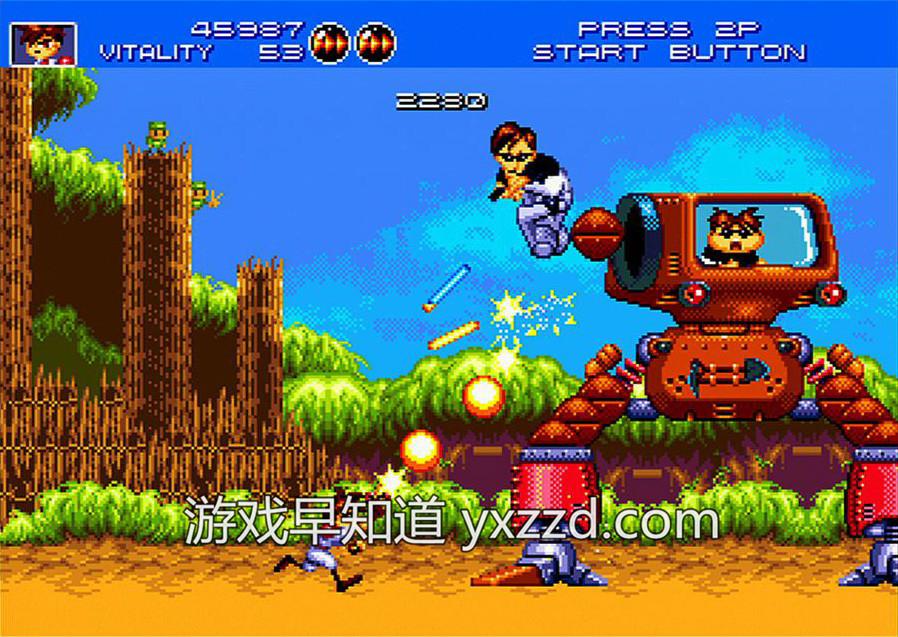 xboxone火枪英雄Gunstar-Heroes