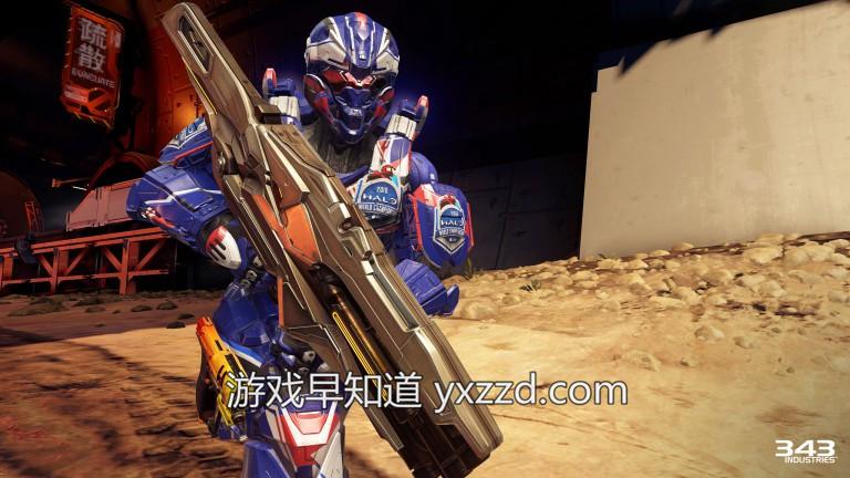 xboxone光环5战区枪林弹雨