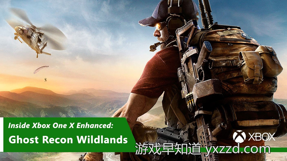 Xbox One X幽灵行动荒野