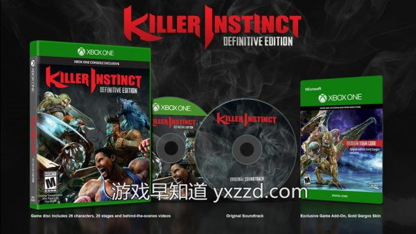 Xboxone杀手学堂决定版Killer Insitinct-Definitive-Edition