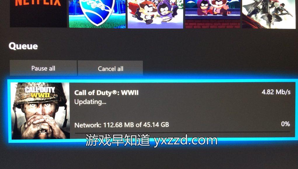 XboxOne使命召唤二战