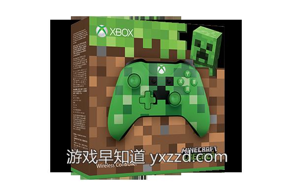 XboxOne绿色苦力怕手柄