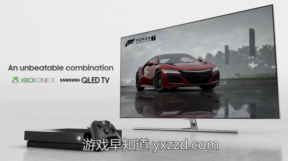 XboxOne X 三星QLED
