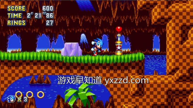 索尼克狂欢Sonic Mania