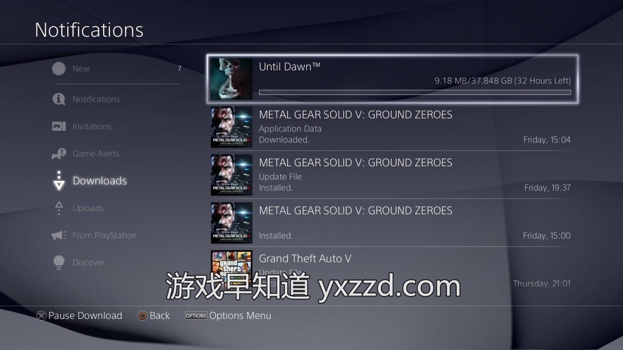 PS4直到黎明Until Dawn