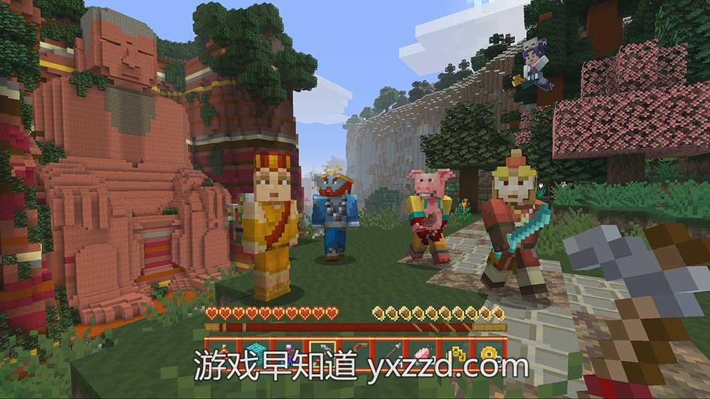 Xboxone我的世界中国神话