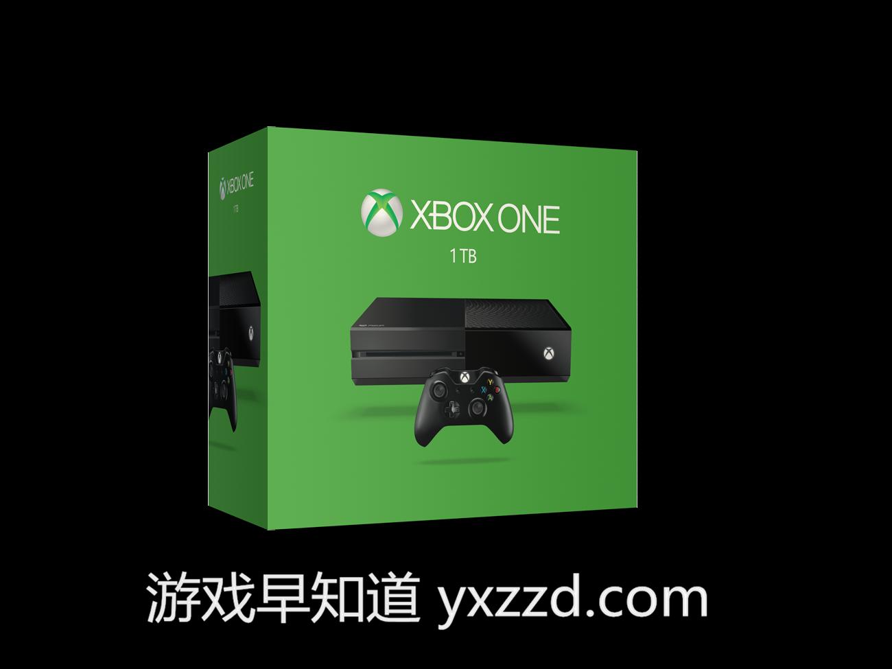 新版1TB xboxone