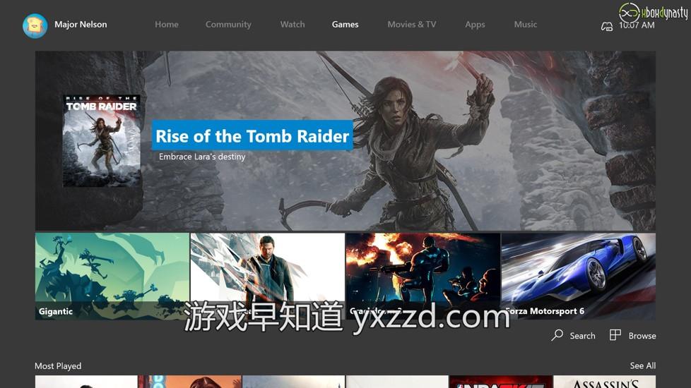 Xboxone Win10 OneCore内核更新