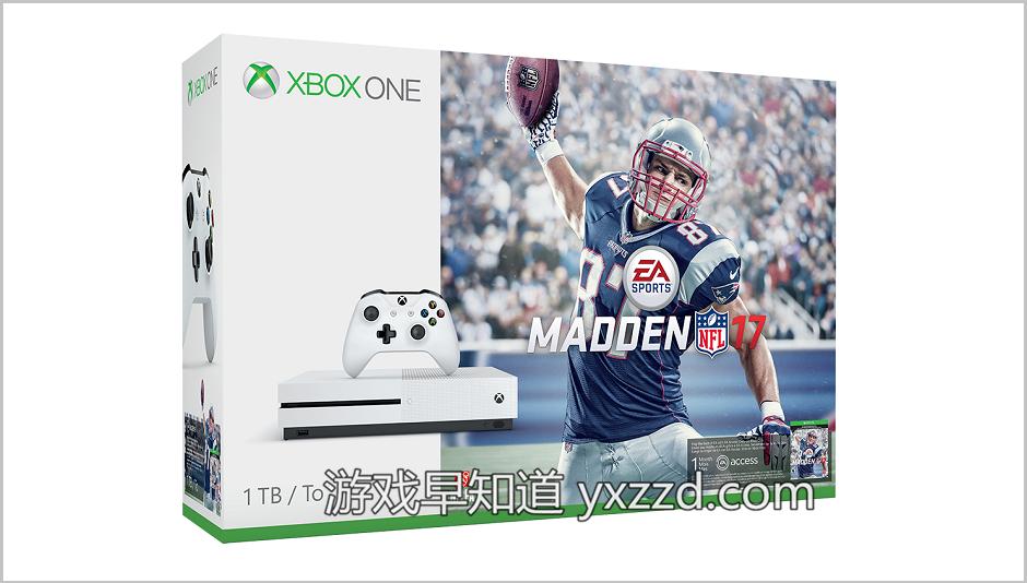 Xbox-One-S-麦登橄榄球Madden-NFL-17
