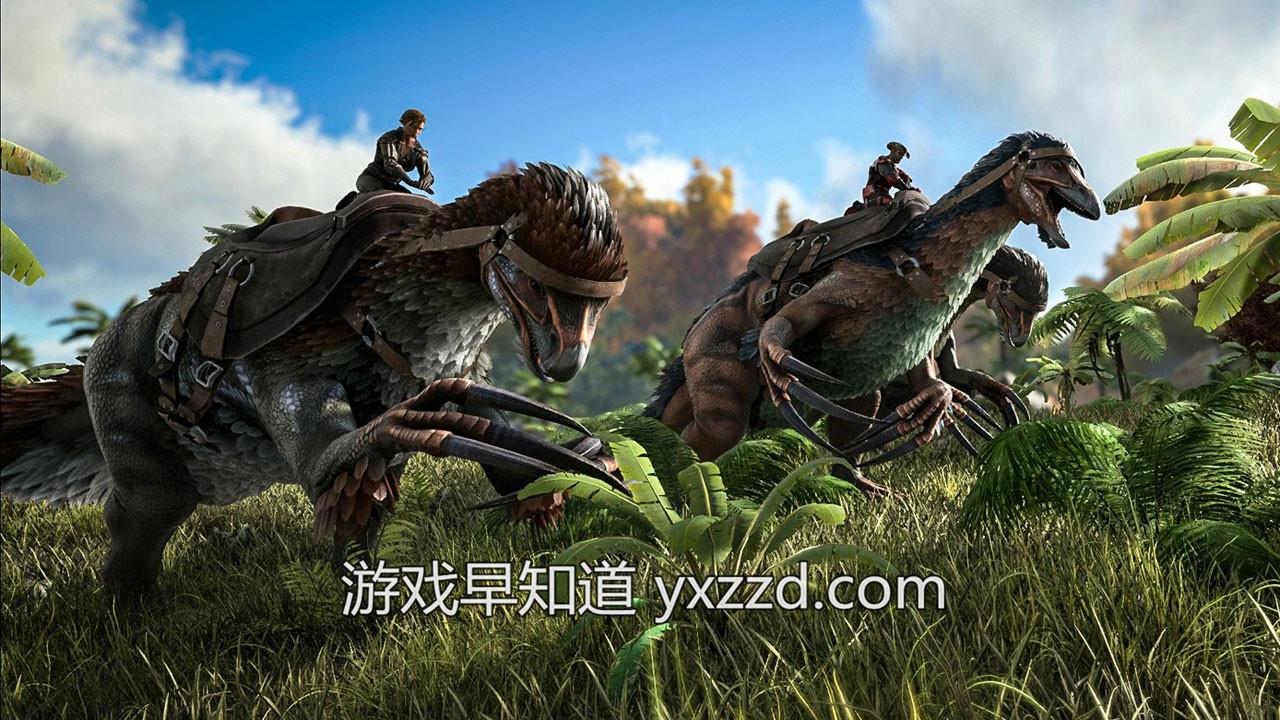 XboxOne X方舟生存进化