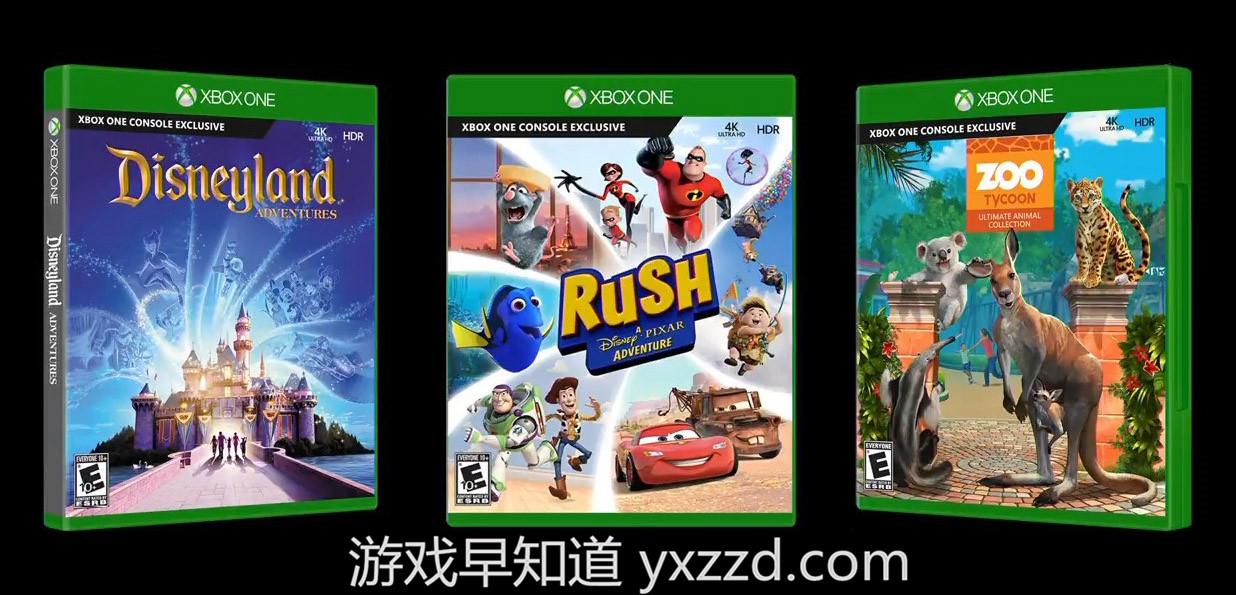 XboxOne体感游戏