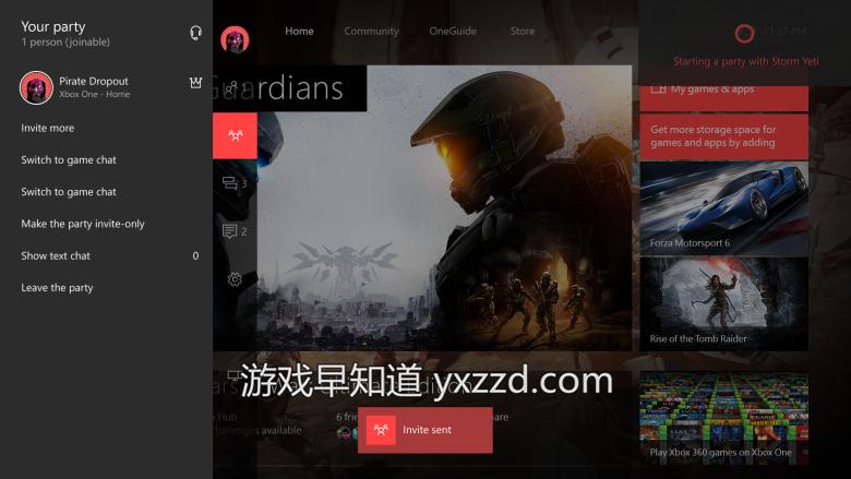 Xboxone win10夏季更新Cortana