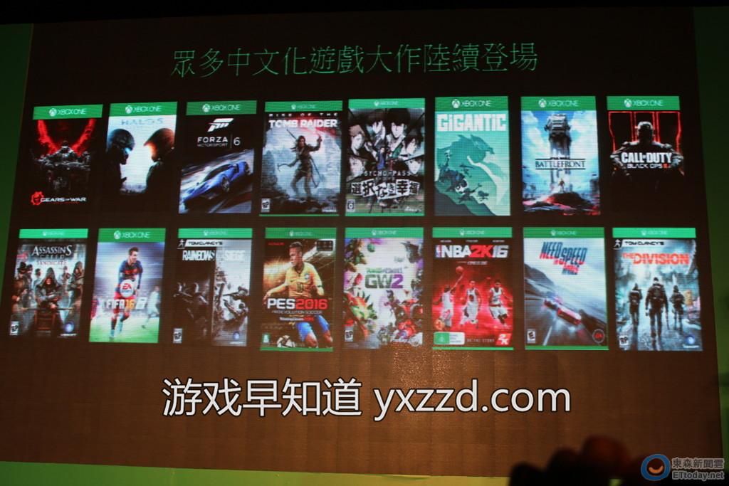 Xboxone繁体中文游戏列表