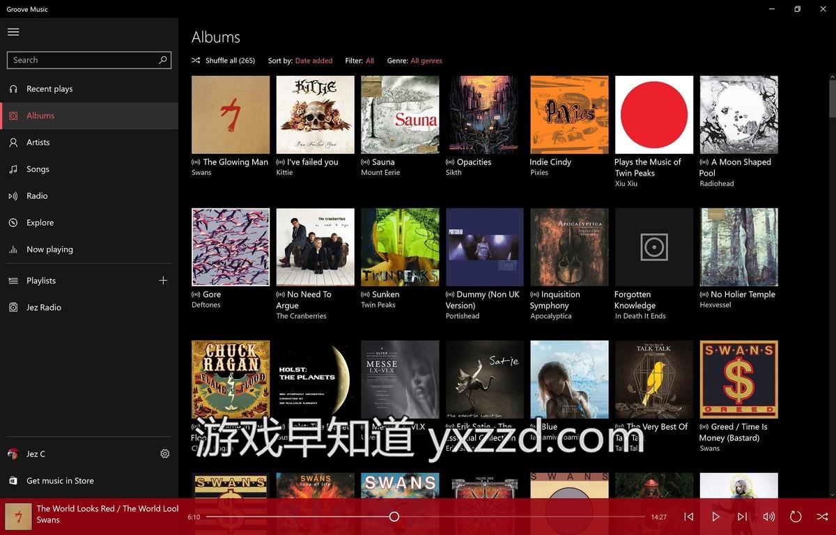 Xboxone groove-music