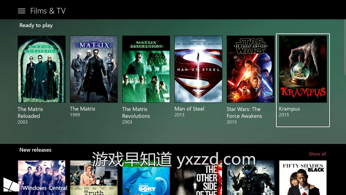 xboxone 电影TV