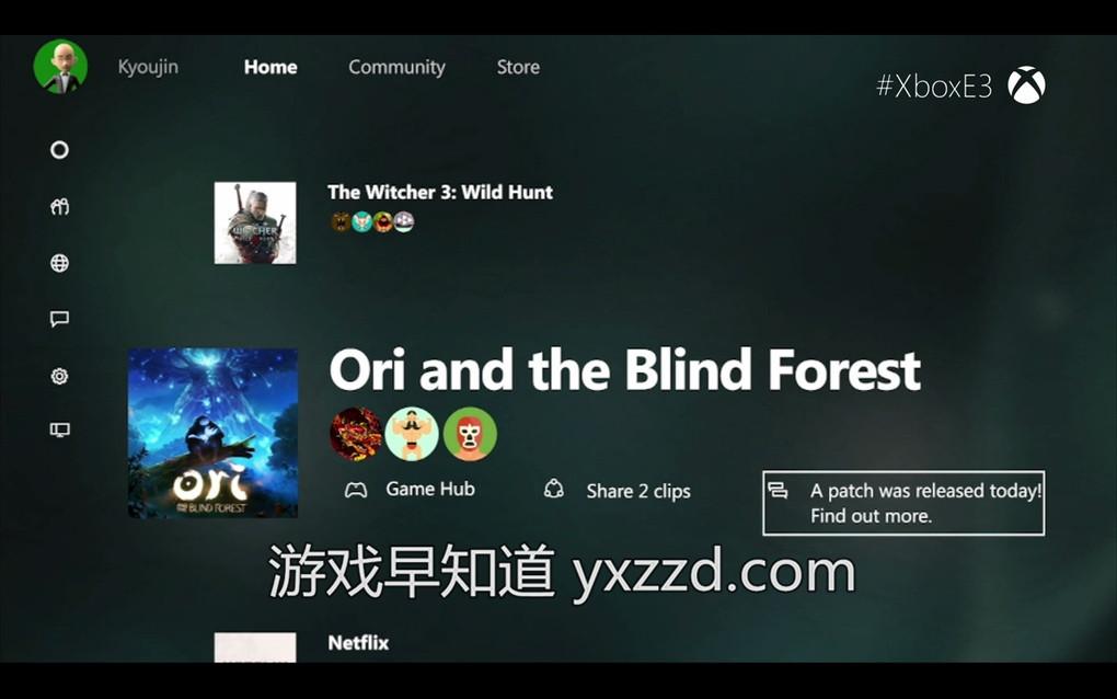 E3 xboxone新UI界面