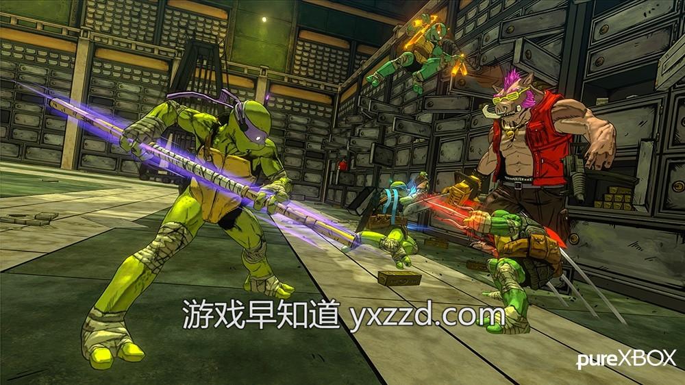 忍者神龟:突变曼哈顿Teenage Mutant Ninja Turtles