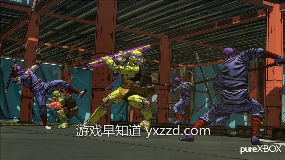 忍者神龟:突变曼哈顿