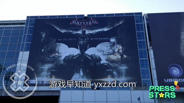E3蝙蝠侠阿甘骑士