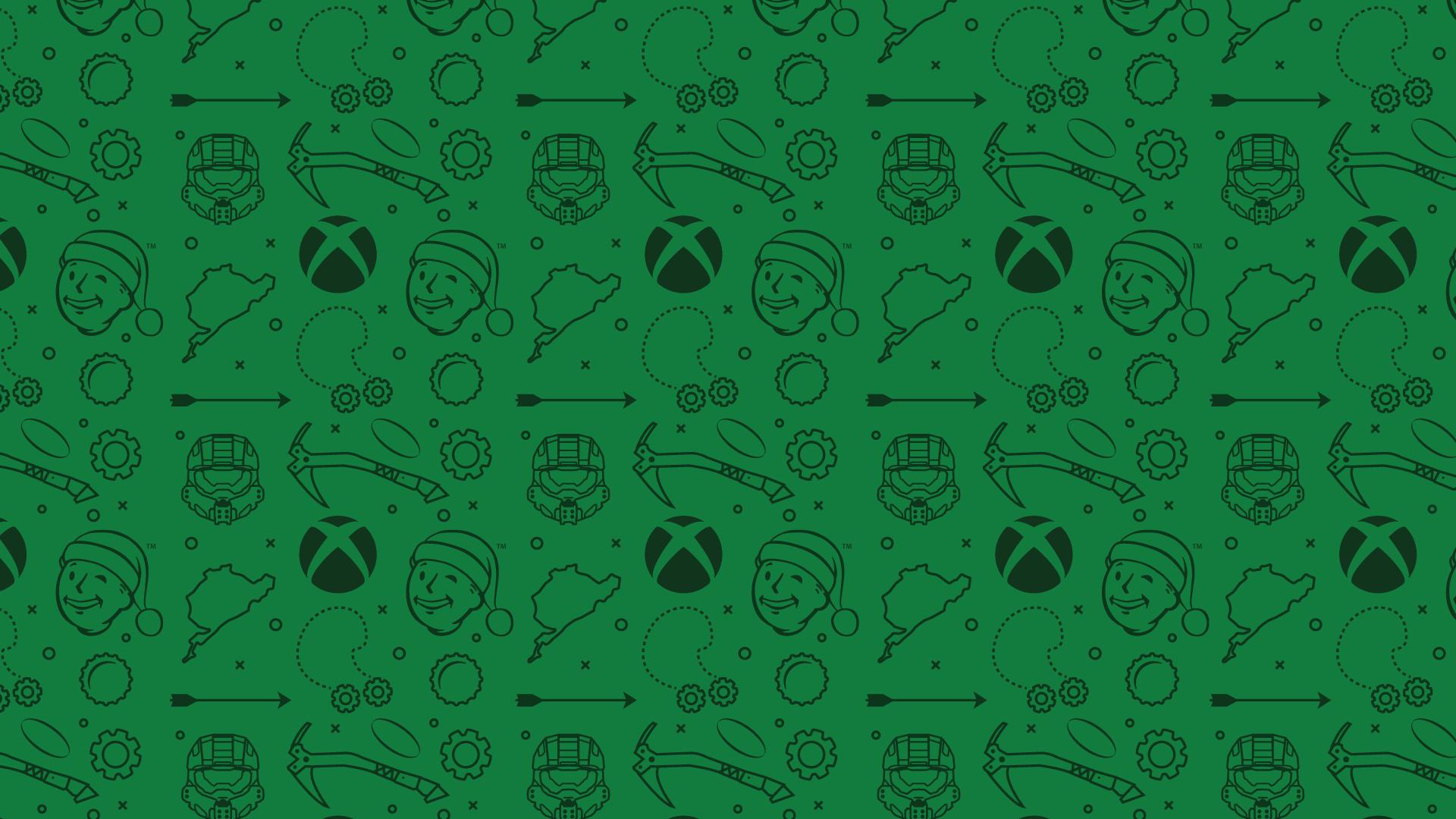 xboxone圣诞壁纸