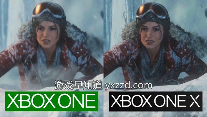 Xbox One X古墓丽影崛起