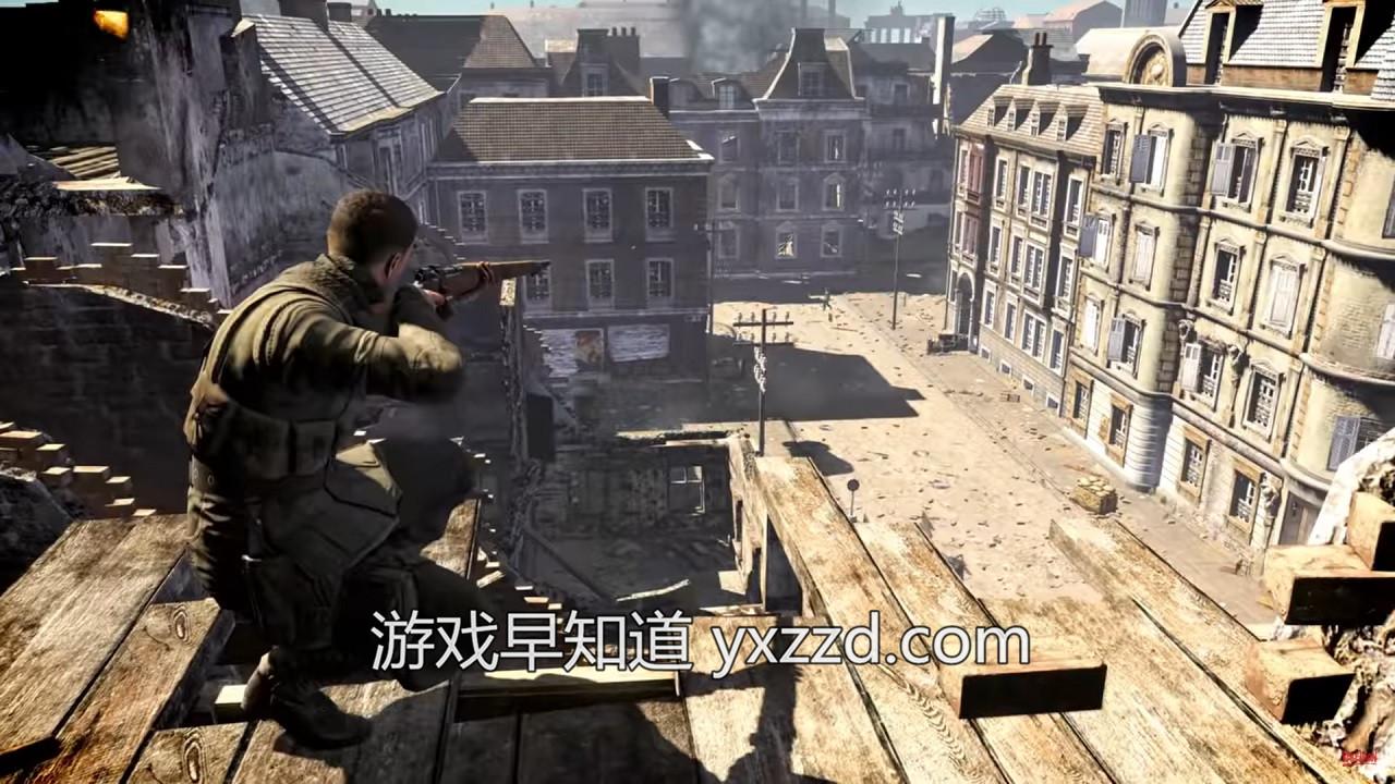 此图像的alt属性为空;文件名为sniper-elite-v2-remastered-01.jpg